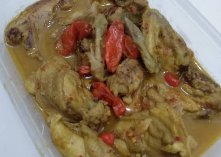 #1 Ayam Lodho Pedas