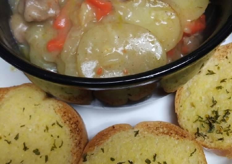Onion Garlic Bread
