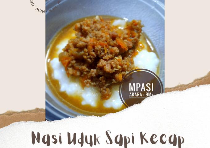 MPASI 9M+ : Nasi Uduk Sapi Kecap - projectfootsteps.org