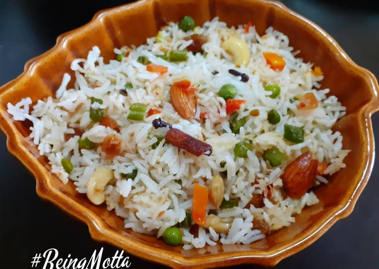 Easiest Way to Make Super Quick Homemade Bengali Vegetable Fried Pulao
