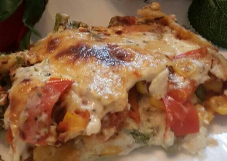 Recipe: Appetizing Bread lasagne