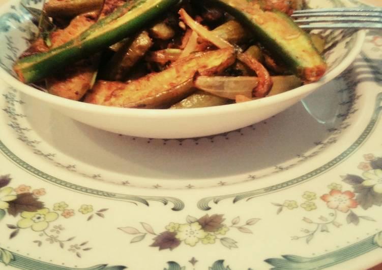 10 Minute Recipe of Spring Fried kundru