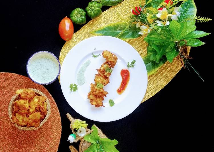 Recipe: Yummy Vegetables pakoray