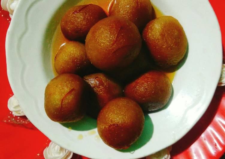 Recipe of Perfect Sweet Potato Gulabjamuns