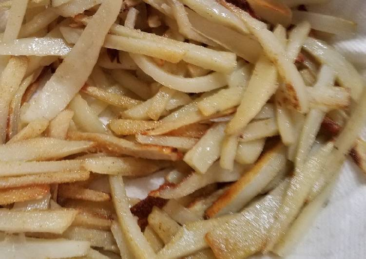 How to Prepare Yummy Easy homemade french fries
