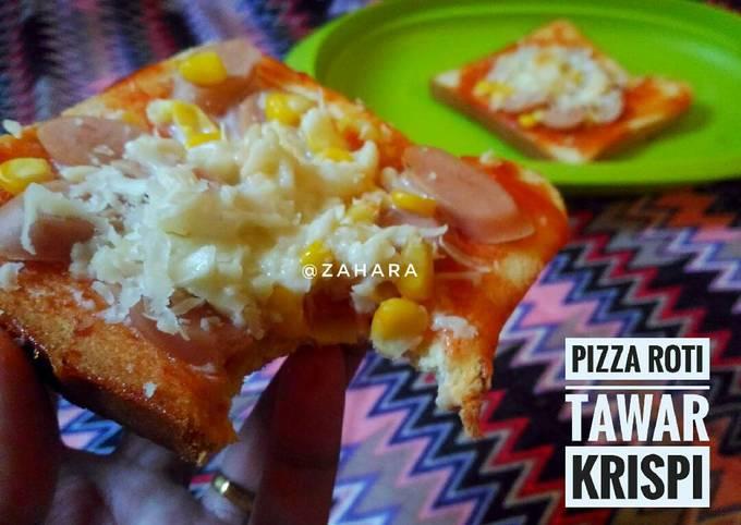 Resep Pizza Roti Tawar Krispi Oleh Zahara Cookpad