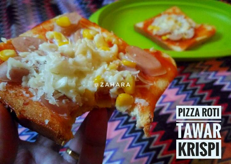 Pizza Roti Tawar Krispi