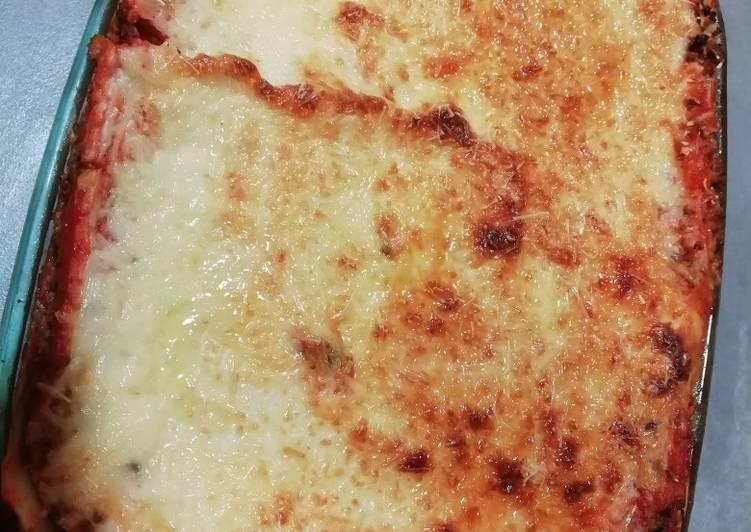 Recipe: Tasty Lasagnes