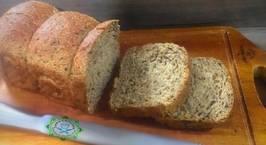 Hình ảnh món Bánh mỳ ngũ cốc nguyên cám làm từ bột chua!
