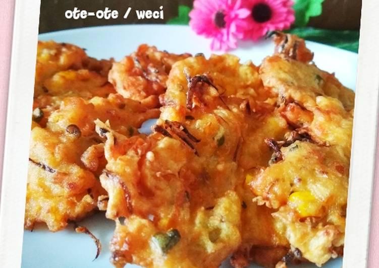 Weci / Bakwan sayur (ote-ote)