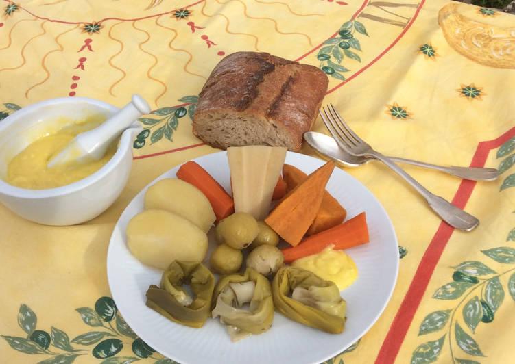 Aïoli de Légumes