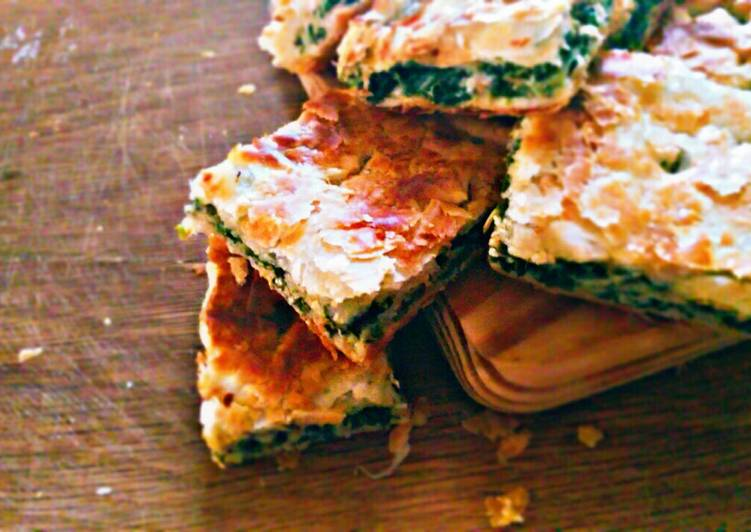 Pizza rustica con spinaci