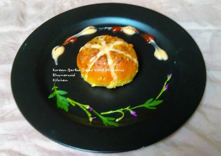 Korean Garlic Bread versi Ekonomis