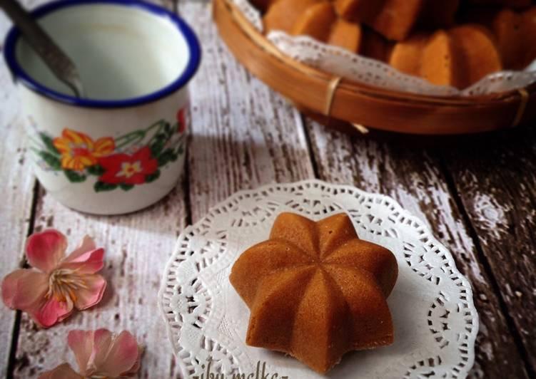 resep membuat Bolu Sakura (bolu karamel jadul) - Sajian Dapur Bunda