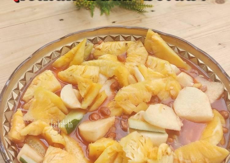 Resep Asinan Buah Betawi (3 buah) praktis