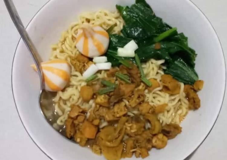 Resep Mie Ayam sederhana Yang Gampang Enak