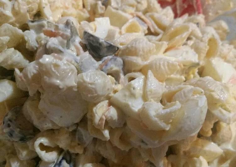 Steps to Make Quick Macaroni Salad