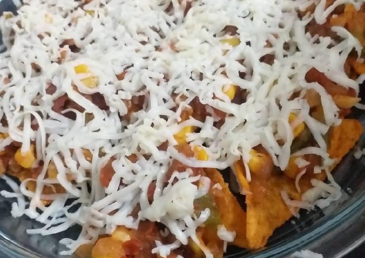 Recipe of Super Quick Homemade Baked Nachos