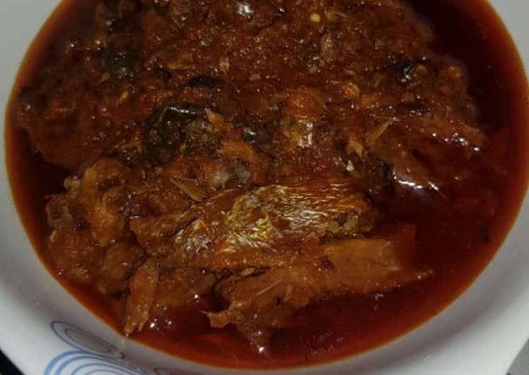How to Prepare Any-night-of-the-week Dry fish stew