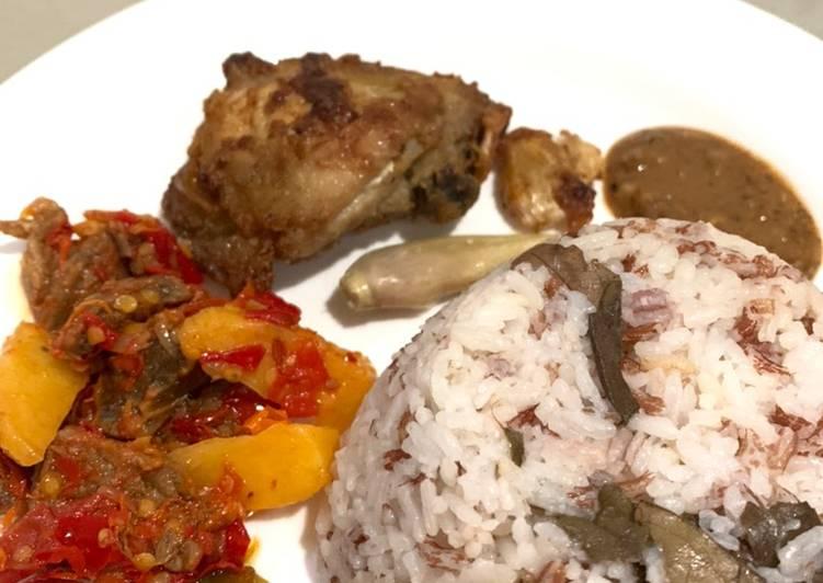 Resep Nasi Uduk Rice Cooker  Anti Gagal