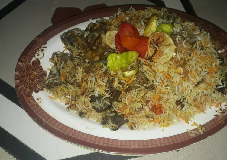25 Minute How to Prepare Any Night Of The Week Kache gosht ki beef biryani