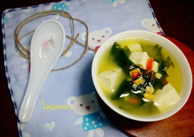 Resep Sup Miso Rumput Laut oleh Lusiana S. Musa - Cookpad