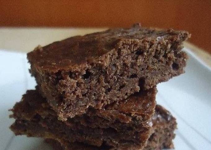 Recipe of Gordon Ramsay Eggless brownie