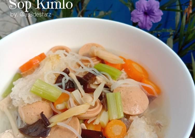 Resep Sop Kimlo Yang Mudah Lezat