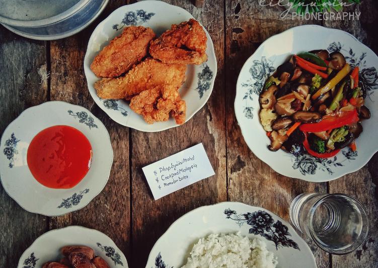Ayam goreng kfc #PhoPbyLiniMohd - velavinkabakery.com