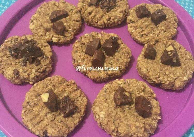 Milo Oat Cookies (no oven, happycall aja)