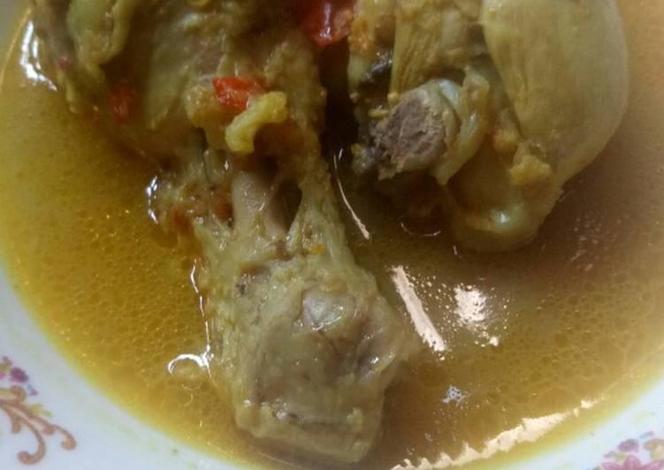 Gulai Paha Ayam