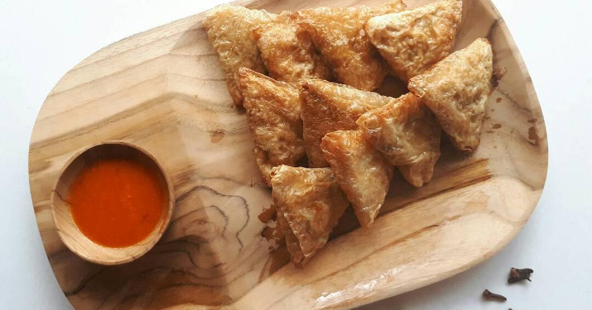 6 resep samosa daging kari enak dan sederhana - Cookpad
