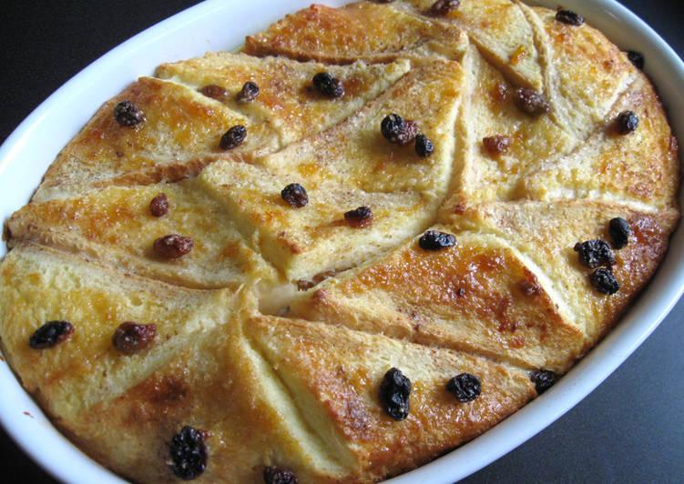 Recipe of Speedy Bread & Butter Pudding