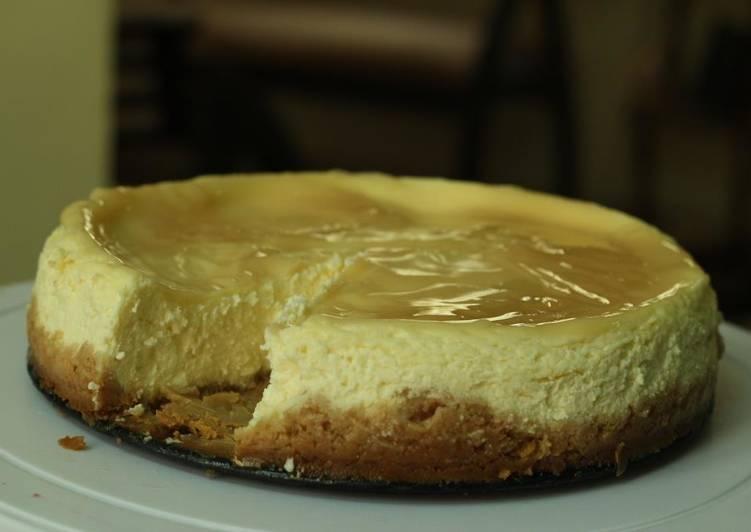 Lemon Cheesecake in a pressure cooker