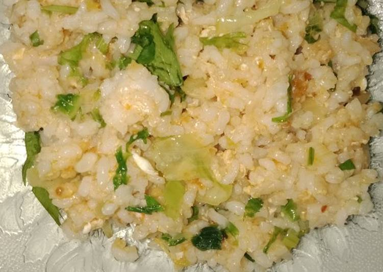 Nasi Goreng sayur bawang bombay bumbu jadi royco endulita