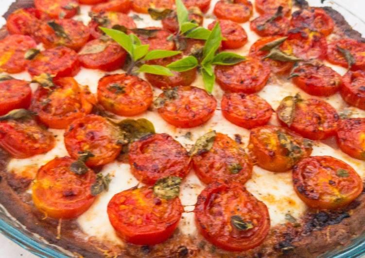Tomaten-Tarte mit Parmesan