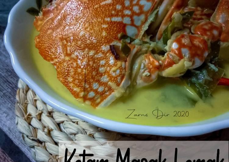 Ketam Masak Lemak - resepipouler.com