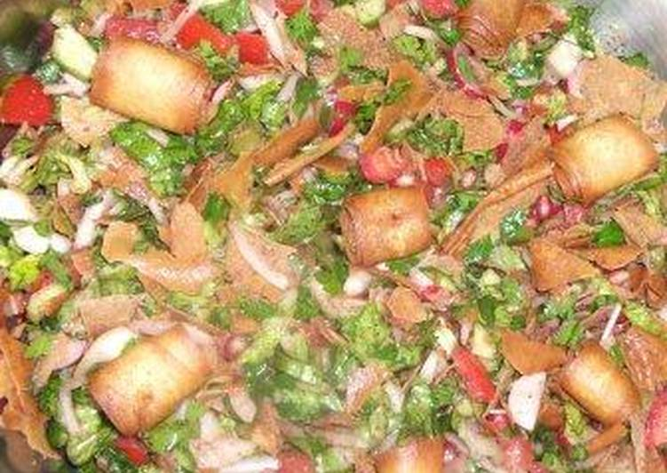 Step-by-Step Guide to Make Speedy Fattoush my way