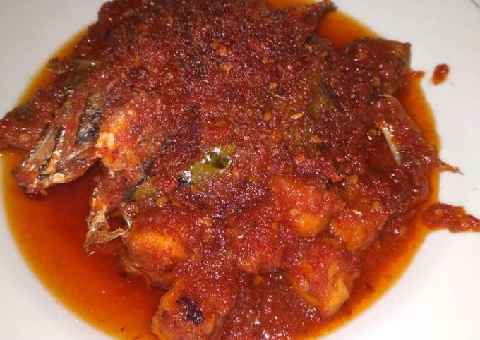 Ikan Selar masak sambal / balado