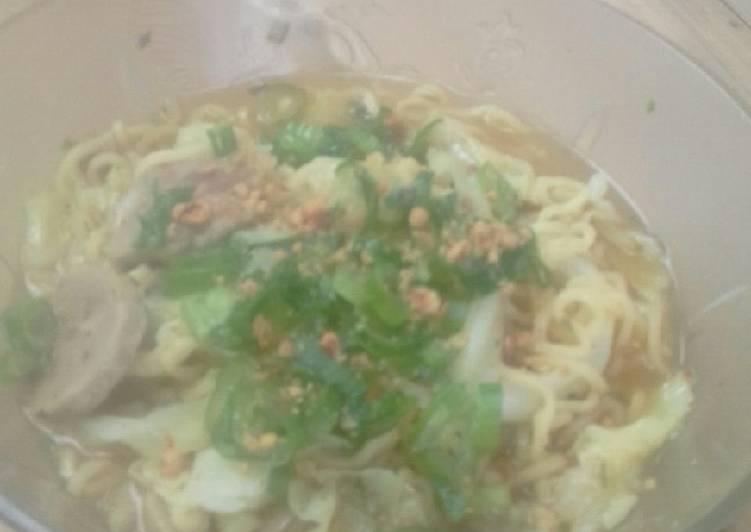 Resep Indomie soto padang Bikin Laper