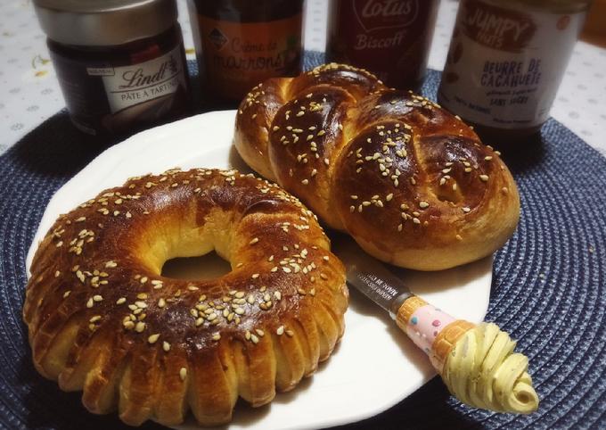 Kaak/ Petits pains au lait briochés ❤