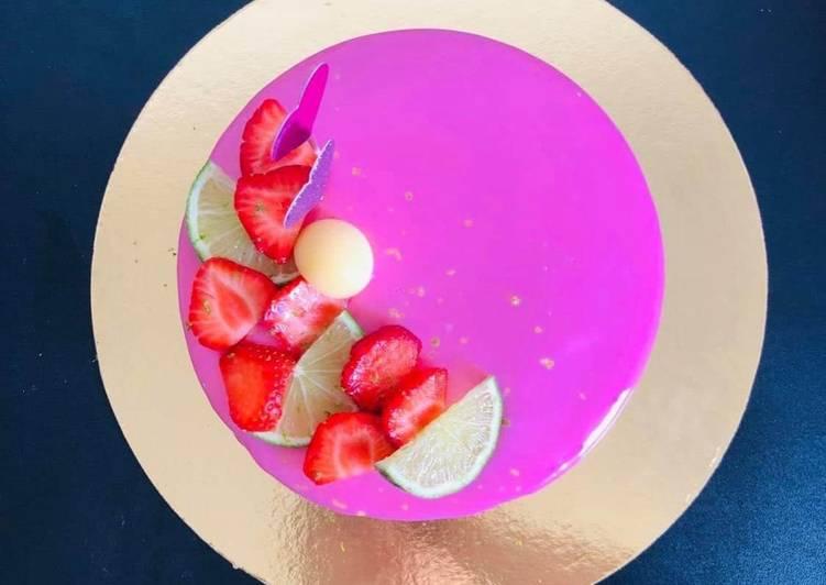 Comment Cuisiner Entremet Fraise / Citron Vert