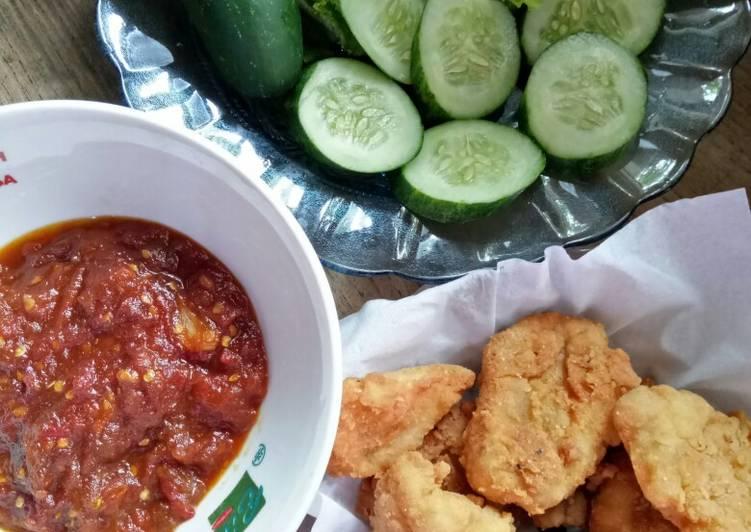 Kakap crispy sambel tomat