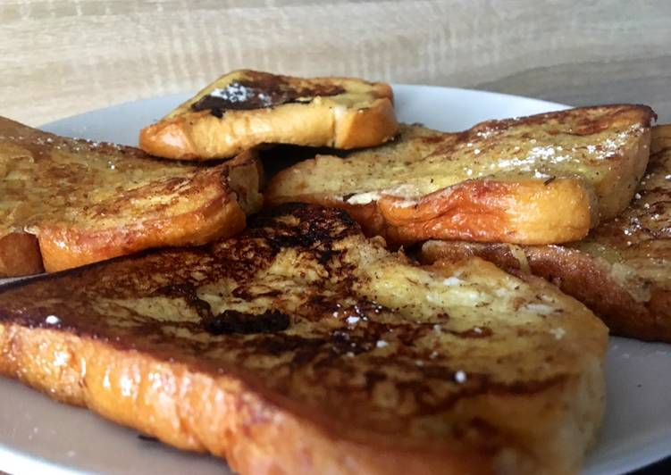 Comment Faire Des Pain perdu à la cannelle