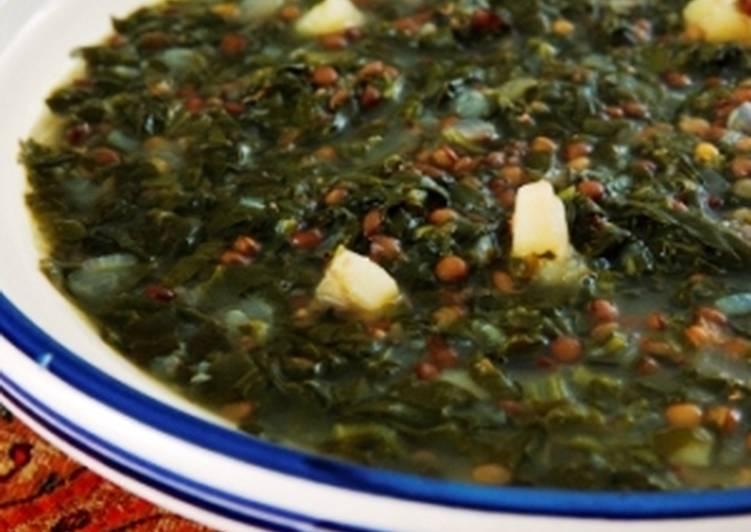 Lentil soup: Adas bi Hamod