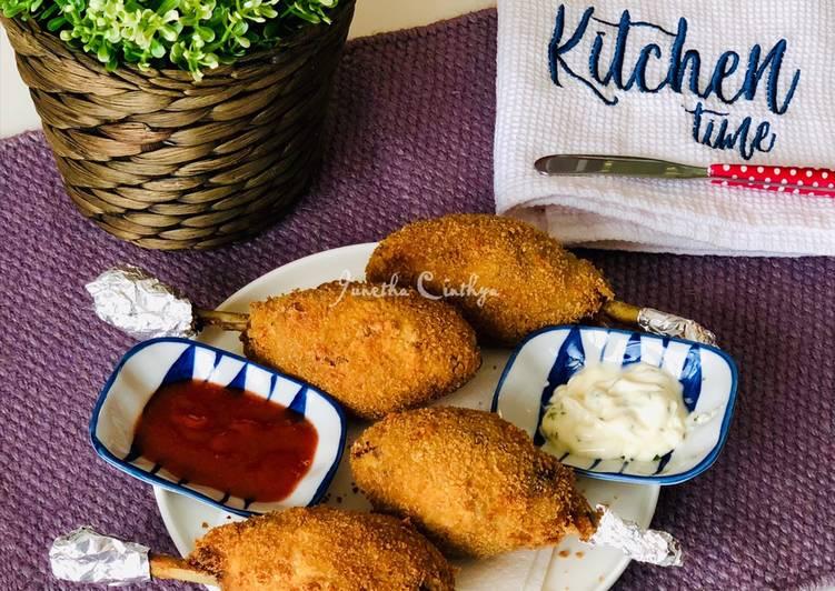 Kroket Paha Ayam