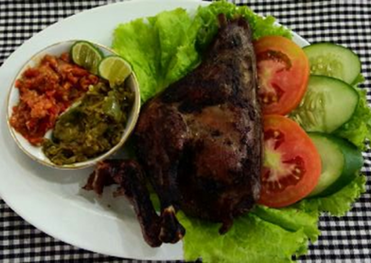 Bebek Bakar Jawa Barat