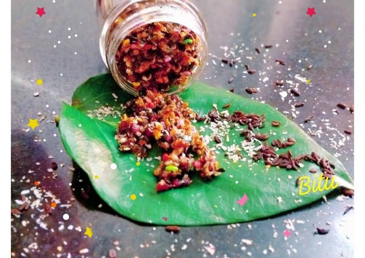 Recipe of Any-night-of-the-week Paan masala