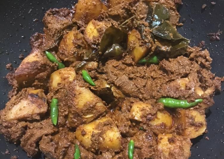 Resep Rendang sapi kentang gampang