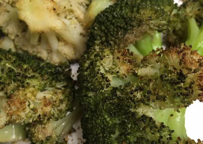 Baked Broccoli 🥦